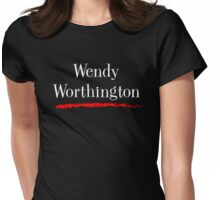 Wendy Worthington Womens Fitted T-Shirt