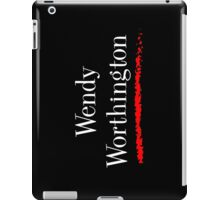 Wendy Worthington iPad Case/Skin