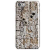 Wooden texture. Tree bark. iPhone Case/Skin
