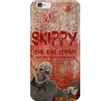 Skippy The Evil Clown Clothing Line  iPhone Case/Skin