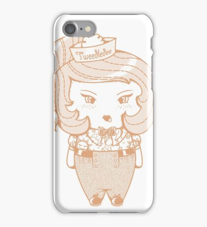 tweedledee iPhone Case/Skin
