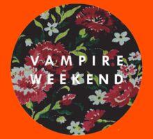 Vampire Weekend Floral Kids Tee