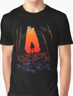 Love Michonne The Walking Dead Graphic T-Shirt