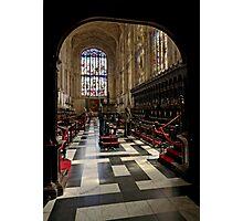 King's Interior 36 Photographic Print