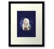 White Forest Elf Framed Print