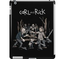 Carl and Rick The Walking Dead iPad Case/Skin