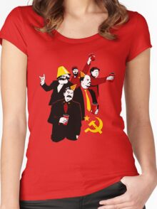 Communist Party CCCP Women's Fitted Scoop T-Shirt