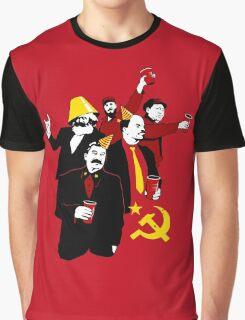 Communist Party CCCP Graphic T-Shirt