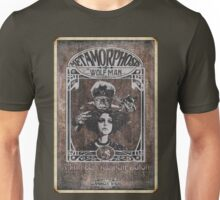 Metamorphosis by The Wolf Man: A Full Service Hair Salon (Old Postcard) Unisex T-Shirt