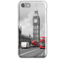 Postcards from London - Red Bus iPhone Case/Skin
