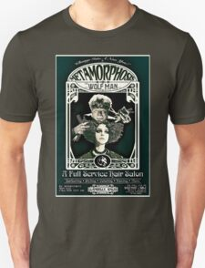 Metamorphosis by The Wolf Man: A Full Service Hair Salon (Vintage) Unisex T-Shirt