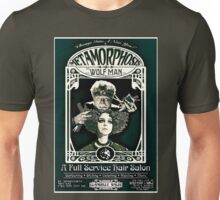 Metamorphosis by The Wolf Man: A Full Service Hair Salon (Vintage) Unisex T-Shirt