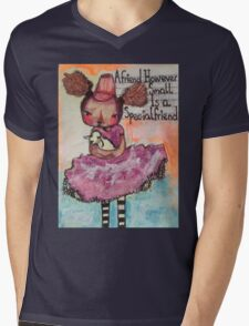A Friend However Small Mens V-Neck T-Shirt