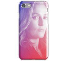 X-files Dana Scully sticker iPhone Case/Skin