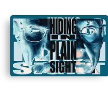 Hiding in Plain Sight - Breaking Bad Canvas Print