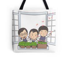 Good Morning Song Triplet Tote Bag