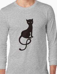 Gracious Evil Black Cat Long Sleeve T-Shirt