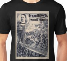 Artist Posters Lyman H Howe's new marvels in moving pictures Courier Litho Co Buffalo NY 0004 Unisex T-Shirt