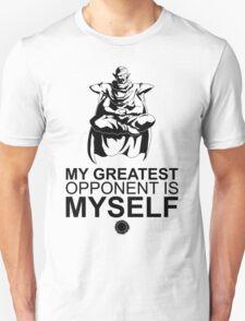 My Greatest Opponent - Black T-Shirt