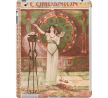 Artist Posters Woman's home companion Price 5 cents 0600 iPad Case/Skin