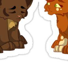 Warrior cats - Brambleclaw and Squirrelflight Sticker