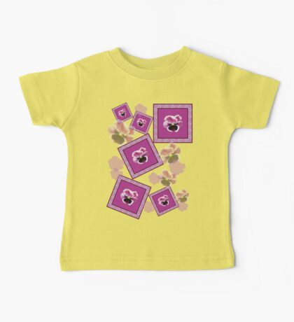 Pansy Baby Tee