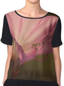 The Pink Flowers Chiffon Top