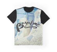Barcelona Spain Gaudí Pattern Photography Graphic T-Shirt