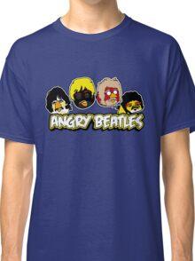 Angry Birds Parody- Angry Beatles - Beatles Parody Classic T-Shirt