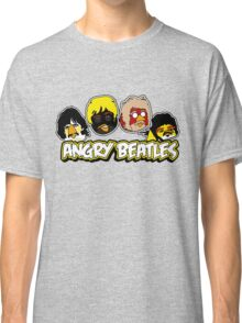 Angry Birds Parody- Angry Beatles - Beatles Parody Classic T-Shirt