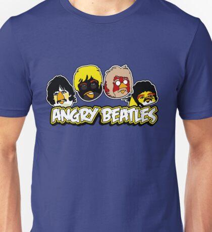 Angry Birds Parody- Angry Beatles - Beatles Parody Unisex T-Shirt