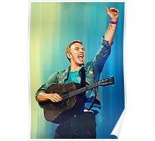 Chris Martin Poster