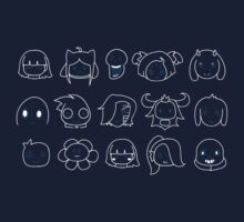 Undertale heads Kids Tee