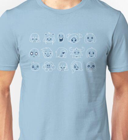 Undertale heads Unisex T-Shirt
