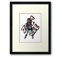Zombie Child Framed Print