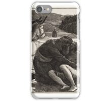 The Good Samaritan, engraved by the Dalziel Brothers, published iPhone Case/Skin