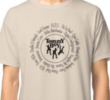Tommy Boy records Hip Hop artists [bk2] Classic T-Shirt