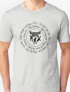 Tommy Boy records Hip Hop artists [bk2] Unisex T-Shirt