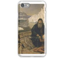 The Hon. John Collier 'The Last Voyage of Henry Hudson' exhibited iPhone Case/Skin