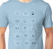 Undertale heads 2 Unisex T-Shirt