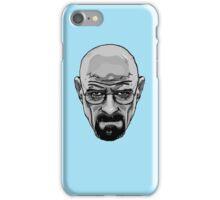 Walter White - Heisenberg - Breaking Bad- Black and White iPhone Case/Skin