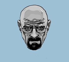 Walter White - Heisenberg - Breaking Bad- Black and White Unisex T-Shirt
