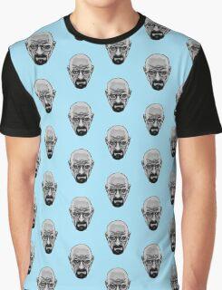 Walter White - Heisenberg - Breaking Bad- Black and White Graphic T-Shirt