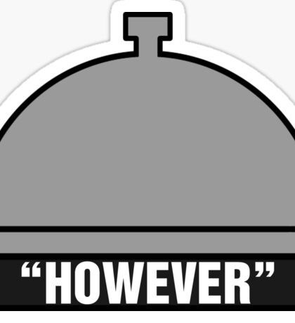 However Bell Sticker