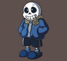 Sans Cartoon Style One Piece - Short Sleeve