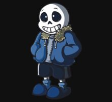 Sans Cartoon Style Kids Tee