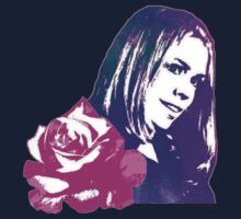 Rose Tyler Companion to the Doctor Kids Tee
