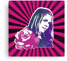 Rose Tyler Companion to the Doctor Canvas Print