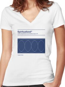 Spiritualized - Ladies and Gentlemen We Are Floating in Space  Women's Fitted V-Neck T-Shirt