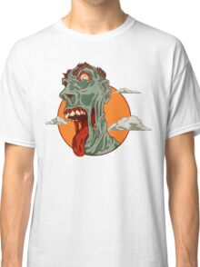 Hungry zombie Classic T-Shirt